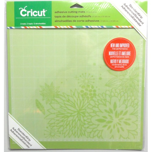 Cricut 12 x 12 cutting mat item 2001974 pk 2 for Imagine crafts craft mat